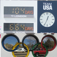 104 Days Until the Olympics