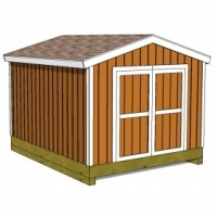 10x12 Shed Plan Roof Designs