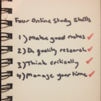 4 Important Online Study Skills You Need