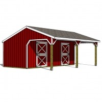4 Options Every 2 Stall Horse Barn Should Have