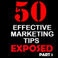 50 Effective Marketing Tips Exposed Part 1