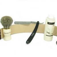A Straight Edge Razor Kit: Your Face Will Thank You Later