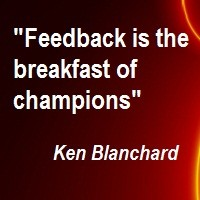 Asking for Informal Feedback  -  What Do You Want to Know?