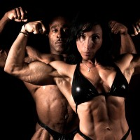 Bodybuilders 40 years and over.