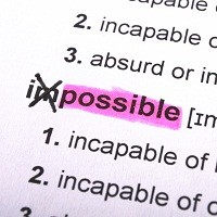 Changing the Impossible to Possible