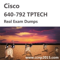 Cisco 640  -  792 Tptech Exam Actual Questions