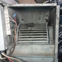 Cleaning A Dirty Air Conditioner Blower Motor In Burtonsville Maryland