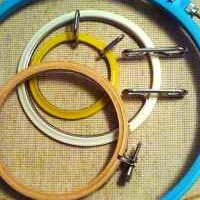 Cross Stitch Hoops And Frames