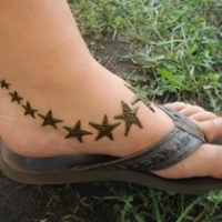Foot Tattoo Designs Too Painful? Try Henna Designs?