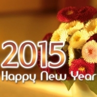 Happ New Year 2015 Wording for Cards