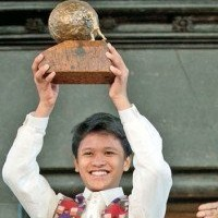 Homeless Boy Who Won Peace Prize Gives Money to Charity