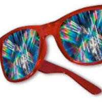 How Diffraction Glasses Function