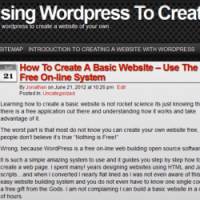 How Using Wordpress To Create A Website Is Simple
