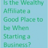 Is the Wealthy Affiliate A Good Place to Be When Starting A Business?