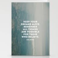 Keeping Your Dream Alive!