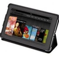Kindle Fire Leather Cover Features
