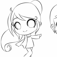 Learning How To Draw A Chibi