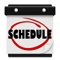 Make A Schedule And Work Smart
