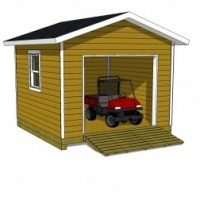 Make Sure Your 12x16 Shed Plans Have These Two Construction Details