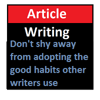 Mistakes To Avoid When Article Writing – Advice For Newbies