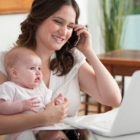 Moms And Working at Home