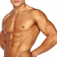 One Benefit Of Infrared Sauna is Ripped Abs