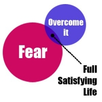 Overcoming Fear to Living A Full Satisfying Life