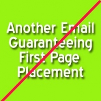 Please Stop Reading Emails to Get Google First Page Results