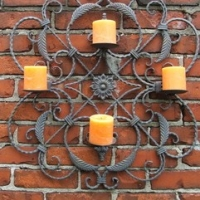 Popular Wrought Iron Wall Sconces
