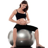 Pregnancy And Exercise Ball Go Hand In Hand