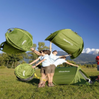 Quechua Tent Pitches Faster Than Any Other Tent