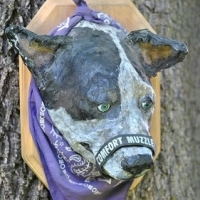 Recycled Artwork: Paper Mache Vs Taxidermy