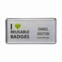 Save Money With Reusable Name Badges