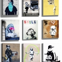 Street Artist Banksy: A Man Whose Art Gave Him Name And Fame
