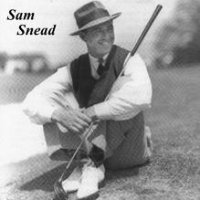 The Legends Of Golf  -  Sam Snead