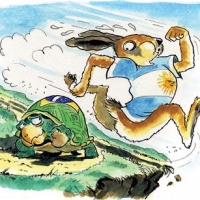 The Tortoise And the Hare – Young Yet Eager to Finish