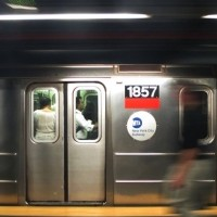 The Woman With The Red Hair  -  A Subway Story