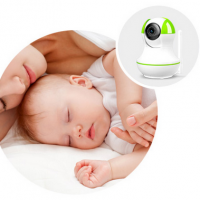 Through HD P/t Wireless Network Camera to Watch Over Your Baby And Family Members Via Smartphone