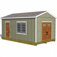 Understanding Roof Trusses for 12x20 Shed Plans