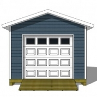 Updating Your Large Shed Plans to Include A Shed Garage Door