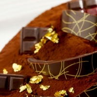 Using Edible Gold Leafing