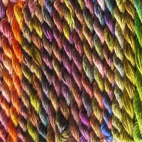 Using Space - dyed Threads
