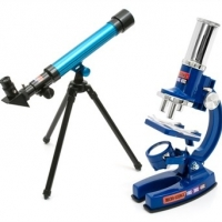 Vision: From Microscope to Telescope