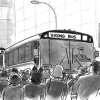 Wake Up: Are You on the Right Bus?
