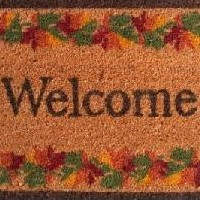 Welcome Mats for Fall