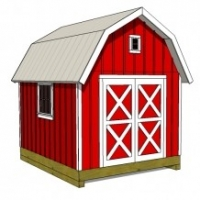 What is A Gambrel Roof Shed?