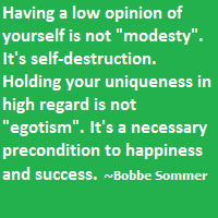 Why Damaging Your Own Self Esteem is Foolish